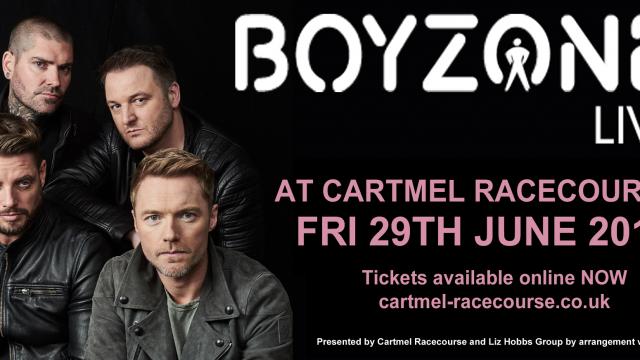 Boyzone at Cartmel Races